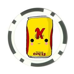 Kawaii Cute Tennants Lager Can Poker Chip Card Guard (10 Pack)