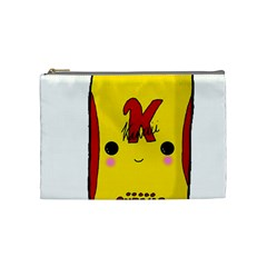 Kawaii Cute Tennants Lager Can Cosmetic Bag (medium)