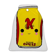 Kawaii Cute Tennants Lager Can Bell Ornament (two Sides)