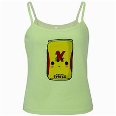 Kawaii Cute Tennants Lager Can Green Spaghetti Tank