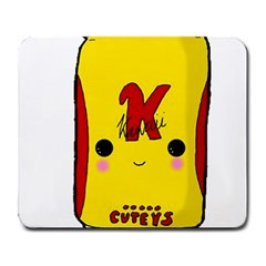 Kawaii Cute Tennants Lager Can Large Mousepads