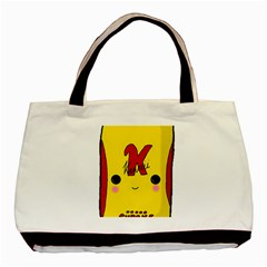 Kawaii Cute Tennants Lager Can Basic Tote Bag by CuteKawaii1982