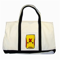 Kawaii Cute Tennants Lager Can Two Tone Tote Bag
