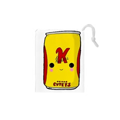 Kawaii Cute Tennants Lager Can Drawstring Pouches (xs)