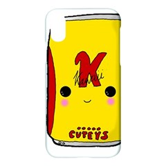 Kawaii Cute Tennants Lager Can Apple Iphone X Hardshell Case