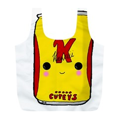 Kawaii Cute Tennants Lager Can Full Print Recycle Bags (l)  by CuteKawaii1982