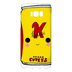 Kawaii Cute Tennants Lager Can Samsung Galaxy S8 Plus Hardshell Case