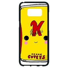 Kawaii Cute Tennants Lager Can Samsung Galaxy S8 Black Seamless Case by CuteKawaii1982