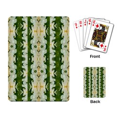 Fantasy Jasmine Paradise Bloom Playing Card