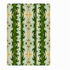 Fantasy Jasmine Paradise Bloom Large Garden Flag (two Sides) by pepitasart
