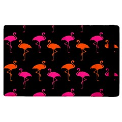 Flamingos Tropical Sunset Colors Flamingo Apple Ipad 3/4 Flip Case by CrypticFragmentsColors