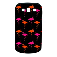 Flamingos Tropical Sunset Colors Flamingo Samsung Galaxy S Iii Classic Hardshell Case (pc+silicone) by CrypticFragmentsColors
