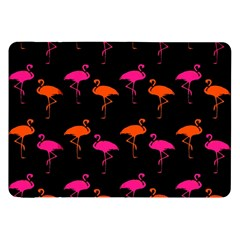 Flamingos Tropical Sunset Colors Flamingo Samsung Galaxy Tab 8 9  P7300 Flip Case by CrypticFragmentsColors