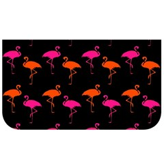 Flamingos Tropical Sunset Colors Flamingo Lunch Bag by CrypticFragmentsColors