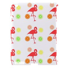 Flamingo Tropical Fruit Pattern Apple Ipad 3/4 Hardshell Case (compatible With Smart Cover) by CrypticFragmentsColors