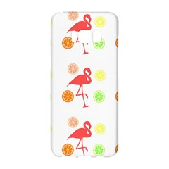 Flamingo Tropical Fruit Pattern Samsung Galaxy S8 Hardshell Case