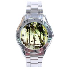 There Is No Promissed Rain 5 Stainless Steel Analogue Watch