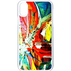 Red Aeroplane 2 Apple Iphone X Seamless Case (white)