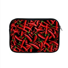 Red Chili Peppers Pattern Apple Macbook Pro 15  Zipper Case by bloomingvinedesign