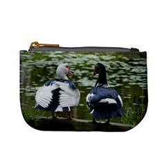 Muscovy Ducks At The Pond Mini Coin Purses