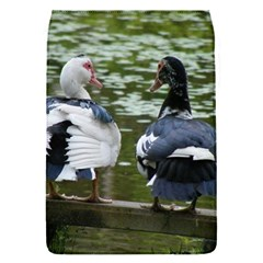 Muscovy Ducks At The Pond Flap Covers (s)  by ImphavokImpressions