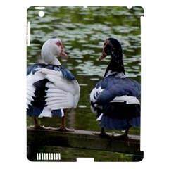 Muscovy Ducks At The Pond Apple Ipad 3/4 Hardshell Case (compatible With Smart Cover) by ImphavokImpressions