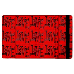 Love 1 Apple Ipad Pro 9 7   Flip Case by ArtworkByPatrick1