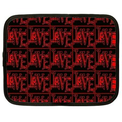 Love 2 Netbook Case (large)