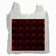 Love 2 Recycle Bag (one Side) by ArtworkByPatrick1