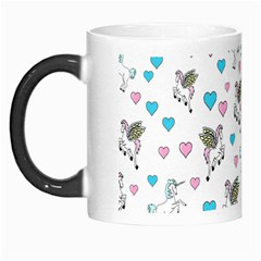Unicorn, Pegasus And Hearts Morph Mug by ImphavokImpressions