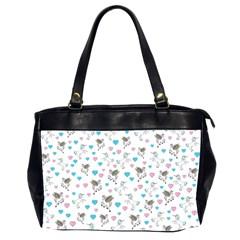 Unicorn, Pegasus And Hearts Office Handbags (2 Sides)