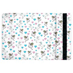 Unicorn, Pegasus And Hearts Ipad Air 2 Flip