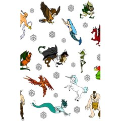 Dundgeon And Dragons Dice And Creatures 5 5  X 8 5  Notebooks