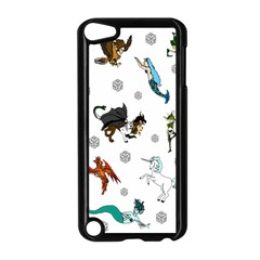 Dundgeon And Dragons Dice And Creatures Apple Ipod Touch 5 Case (black) by ImphavokImpressions