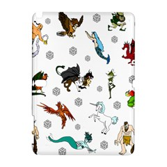 Dundgeon And Dragons Dice And Creatures Samsung Galaxy Note 10 1 (p600) Hardshell Case by ImphavokImpressions