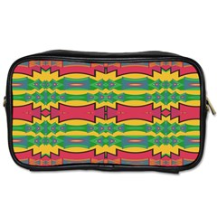 Shapes Rows Pattern                                       Toiletries Bag (two Sides)