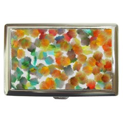 Colorful Paint Brushes On A White Background                                        Cigarette Money Case