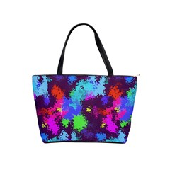 Paint Spots Texture                                         Classic Shoulder Handbag