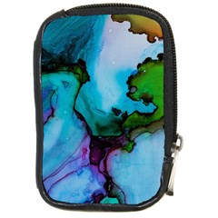 Blue Green Ink                                          Compact Camera Leather Case