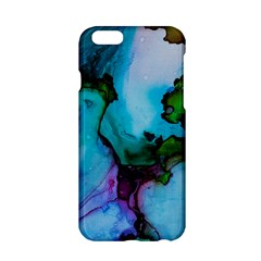Blue Green Ink                                    Apple Iphone 6/6s Black Enamel Case by LalyLauraFLM