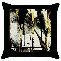 There Is No Promissed Rain 2 Throw Pillow Case (black)