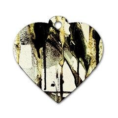 There Is No Promissed Rain 2 Dog Tag Heart (one Side)