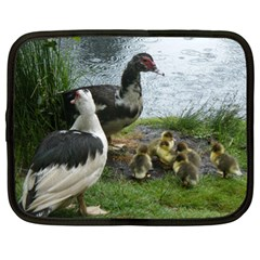 Muscovy Family Netbook Case (xl)