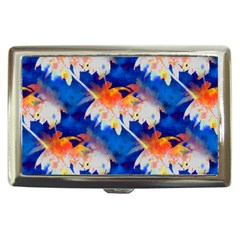 Palm Trees Tropical Beach Sunset Cigarette Money Case by CrypticFragmentsColors