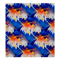 Palm Trees Tropical Beach Sunset Shower Curtain 66  X 72  (large)
