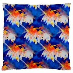 Palm Trees Tropical Beach Sunset Standard Flano Cushion Case (two Sides)