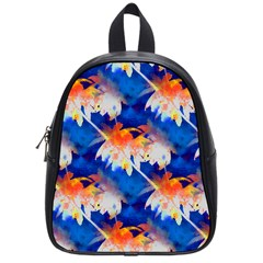Palm Trees Tropical Beach Sunset School Bag (small) by CrypticFragmentsColors