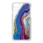 Stylized Rainbow - Apple iPhone 7 Seamless Case (White)
