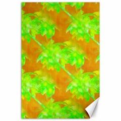 Coconut Palm Trees Caribbean Vibe Canvas 24  X 36