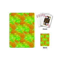 Coconut Palm Trees Caribbean Vibe Playing Cards (mini)